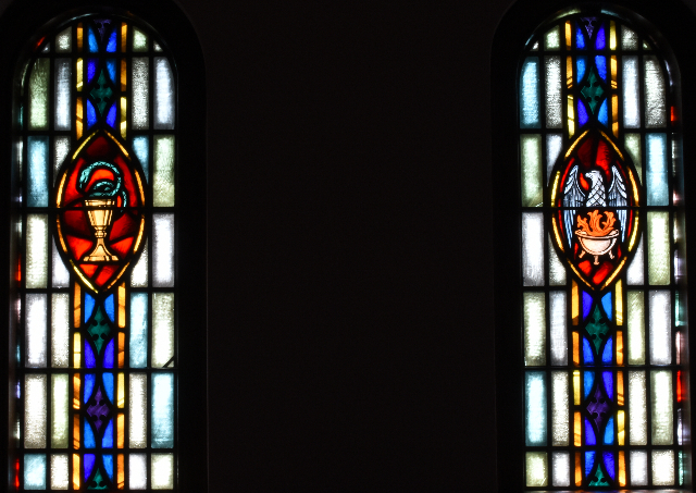 Narthex 2 window detail