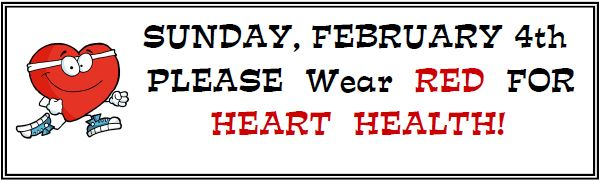 Wear Red for Heart